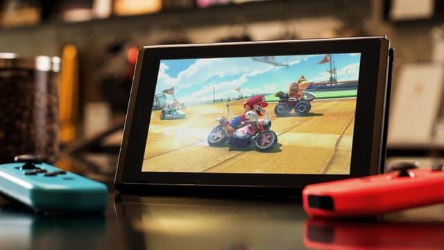 La console Switch de Nintendo