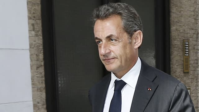 Nicolas Sarkozy, le 21 octobre 2014.