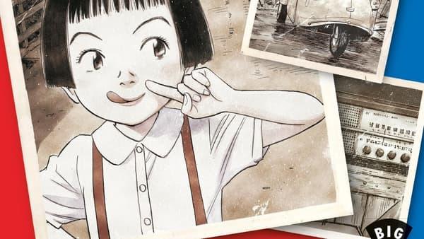 Détail de la couverture d'Asadora de Naoki Urasawa