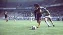 Maradona au Parc des Princes en 1981