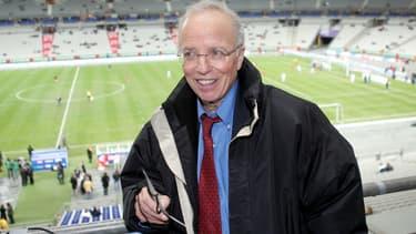 Le journaliste sportif Thierry Roland publie <i>Mes 13 coupes du monde</i>