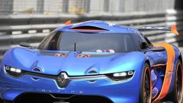 Une Renault Alpine sera sur la ligne de départ des 24 Heures du Mans.
