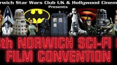 L'affiche de la convention de fans, organisée par le fan club de Star Wars.