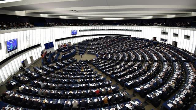 Le parlement européen - Image d'illustration