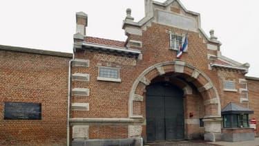 L'entrée principal de la maison d'arrêt de Douai (illustration)
