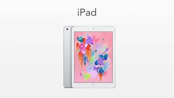 L'iPad d'Apple, sorti en 2018