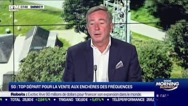 """François Barrault (IDATE DigiWorld) : Avec la 5G, """"on va arriver à une transformation dans les 10 prochaines années qu'on avait jamais vu pour l'instant"""""""