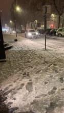 Chutes neige Saint-Etienne - Témoins BFMTV