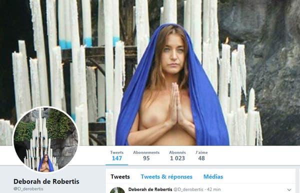 Capture d'écran, Deborah de Robertis