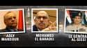 Après la destitution de Mohamed Morsi, portrait des trois hommes forts de l'Egypte.