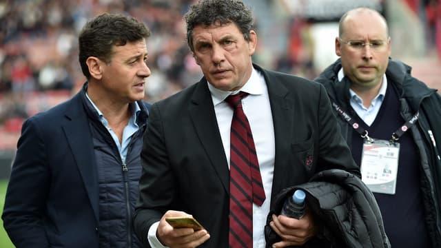 Didier Lacroix, le président du Stade Toulousain