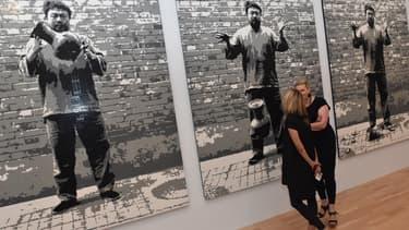 Ai Weiwei avait déjà utilisé des briques Lego en 2014, afin de créer des portraits géants de dissidents politiques du monde entier.