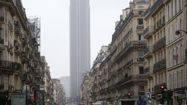 Vue du quartier de Montparnasse à Paris en janvier 2014 (image d'illustration)