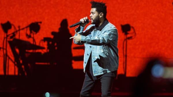 The Weeknd à San Antonio en octobre 2017.