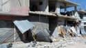 Immeubles détruits à Al Kassir, près de Homs. Tous les efforts doivent être mis en oeuvre pour s'assurer que le gouvernement syrien et l'opposition respectent la date butoir de jeudi fixée pour l'arrêt des violences qui ont fait des milliers de morts en S