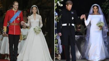 William, Kate, Harry et Meghan