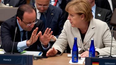 François Hollande et Angela Merkel célèbrent les 50 ans du couple franco-allemand