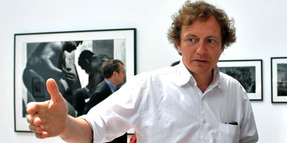 François Hébel à Arles, le 11 juillet 2008.