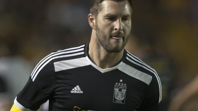 André-Pierre Gignac a claqué son deuxième but de la saison avec les Tigres.