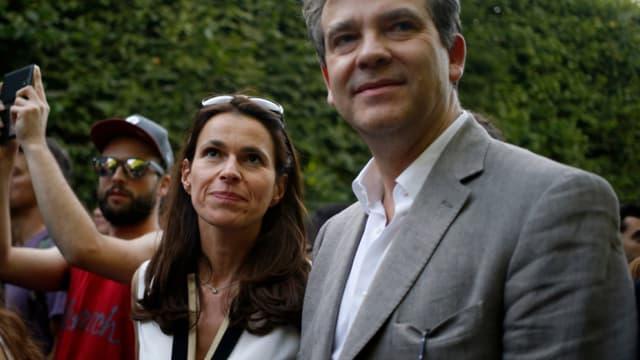 Arnaud Montebourg et Aurélie Filippetti donnent tous deux des conférences à Princeton (photo d'illustration).