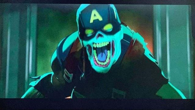 Captain America version zombie