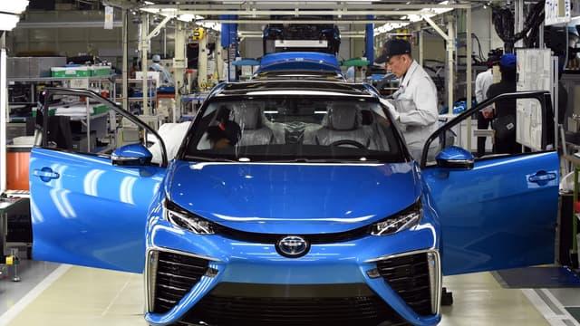 Toyota était numéro un mondial des ventes sans discontinuer depuis 2012.