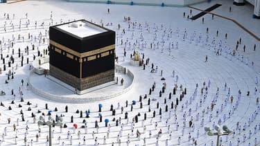 Photos de pèlerins à La Mecque, le 31 juillet 2020