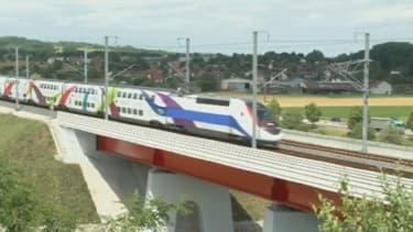 Le projet des LGV, lignes à grande vitesse, source d'inquiétude chez des élus alsaciens
