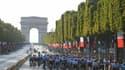 Le Tour de France 2019 devant les Champs-Elysées