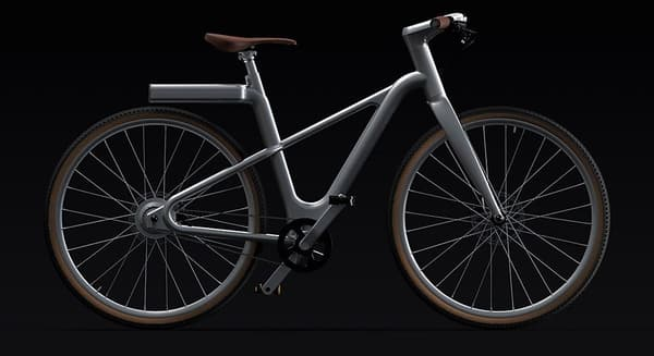 Angell propose son vélo connecté en version barre oblique