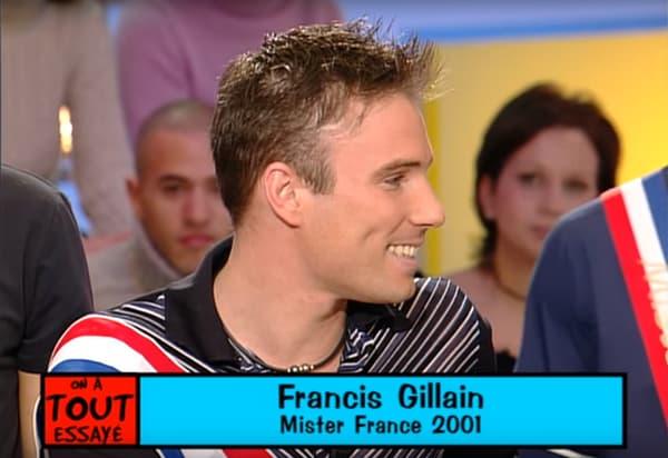 Francis Gillain, Mister France 2001, le 6 novembre 2001 sur France 2