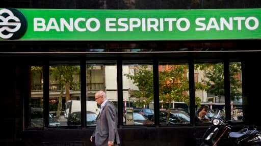 Banco Esperito Santo est en grande difficulté.