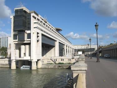 Ministère du Budget, à Bercy