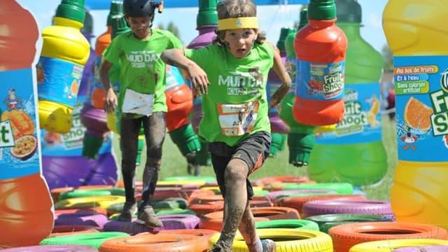750 enfants ont goûté aux joies du Mud Kids by Fruit Shoot.