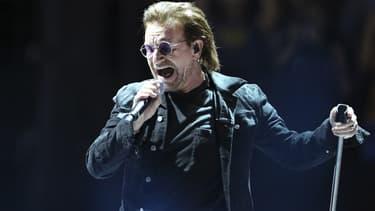 Bono en concert à Paris le 8 septembre 2018