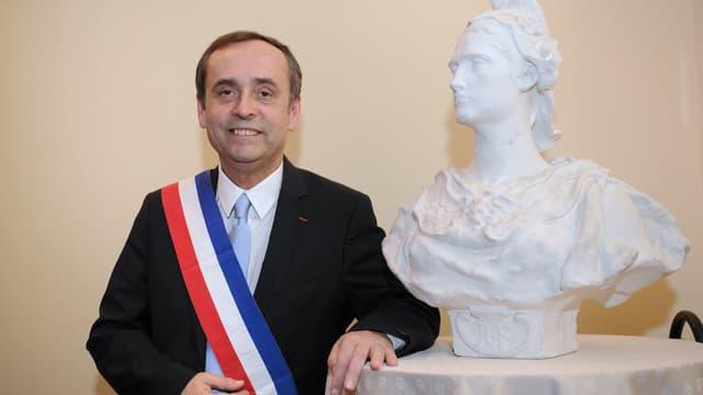 Robert Ménard, maire de Béziers, en avril 2014