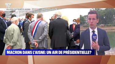 Emmanuel Macron dans l'Aisne: un air de présidentielle ? - 17/06