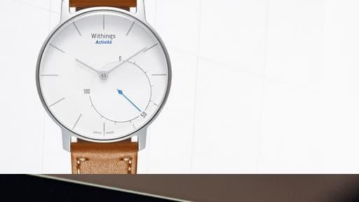 Withings a lancé sa montre connectée.