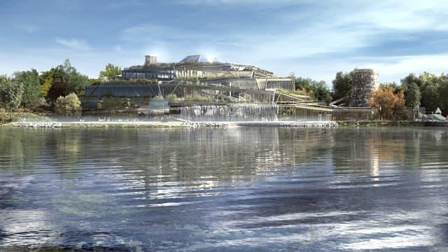 L'Aqualagon, chauffé par géothermie, sera au coeur du complexe des Villages Nature.