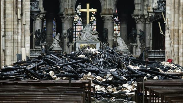 Il faudra probablement attendre plusieurs mois avant que le nettoyage de Notre-Dame soit terminé, et qu'une évaluation soit faite pour déterminer ce qui peut être fait