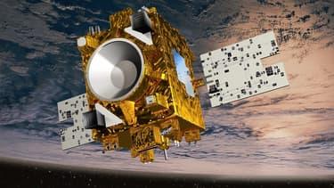 Microscope, le satellite français (vue d'artiste)