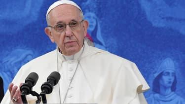 Le pape François en Irlande, le 26 août 2018.