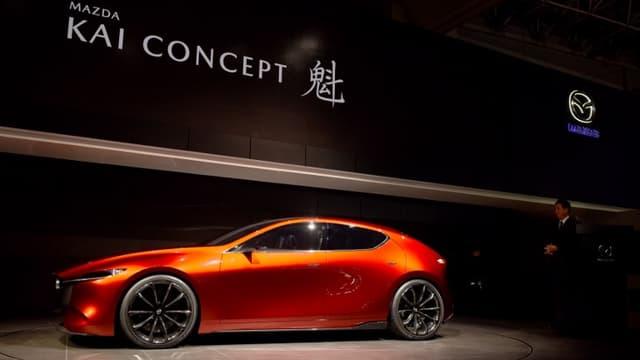 La nouvelle Mazda 3, dévoilée à la fin du mois, sera équipée du Skyactiv X, un des moteurs thermiques les moins polluants du marché.