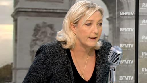 """Pour Marine Le Pen, le tragique événement souligne """"l'incohérence de la politique étrangère de la France."""