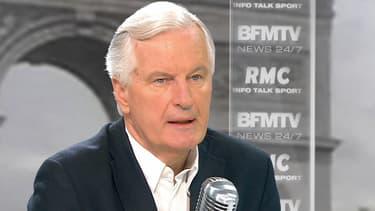 Michel Barnier le 27 juillet sur BFMTV et RMC.