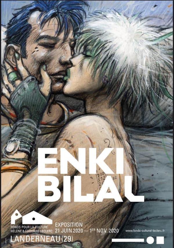 Affiche de l'exposition Enki Bilal