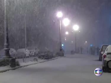 Les images de chutes de neige très inhabituelles dans le sud du Brésil