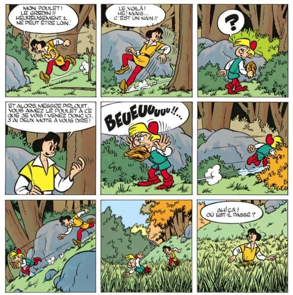 Johan et Pirlouit par Peyo