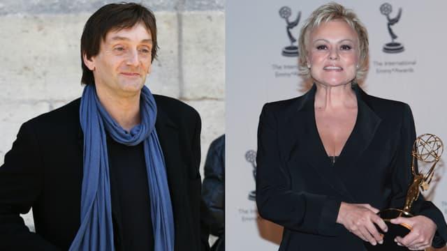 Pierre Palmade et Muriel Robin