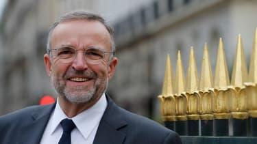 Etienne Blanc, candidat LR aux élections municipales à Lyon.